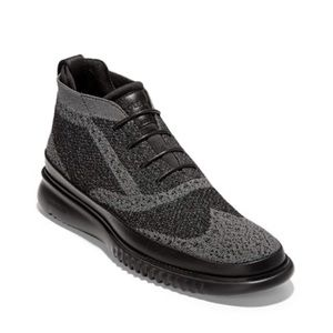 Cole Haan ZeroGrand Black/Gray Oxford Shoes! 💥